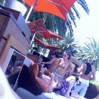Vegas Bare Pool Shots