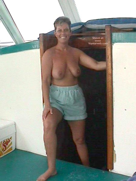 Pic #2 - Annie Goes Deep Sea Fishing