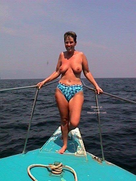 Pic #3 - Annie Goes Deep Sea Fishing