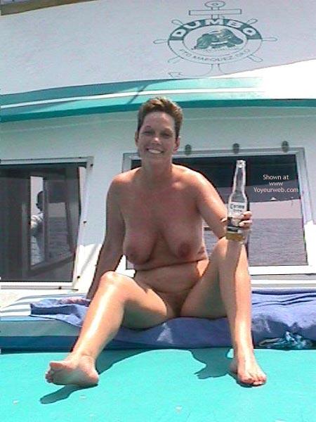 Pic #4 - Annie Goes Deep Sea Fishing