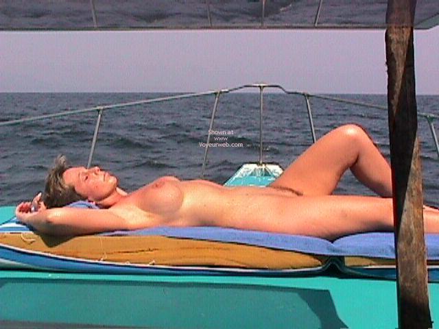 Pic #10 - Annie Goes Deep Sea Fishing