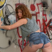 Lisajane Against The Wall