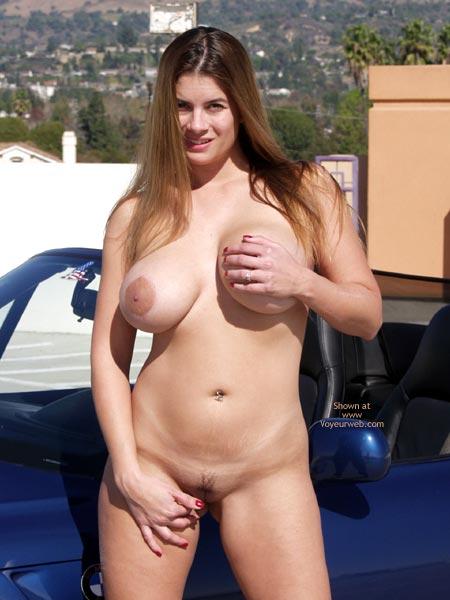 Pic #6 - Nikki ;)~ Outside Strip Tease