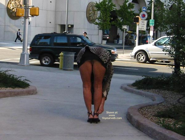 Pic #4 - Renee - Transparent Blouse In Public