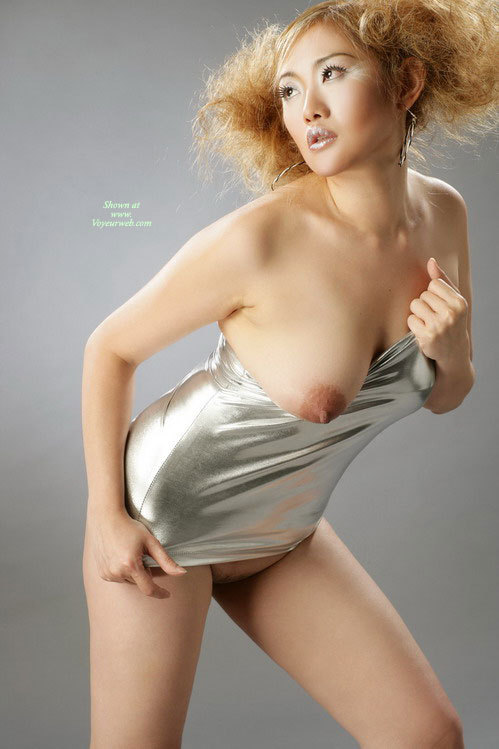 Pic #1 - Naked Chinese Model - Naked Girl, Nude Amateur , Chinese Large Titts, Silver Bullet, Standing Leaning Forward, Nice Big Nipple, Nude Chinese Model, Stripping It Off, Bent Forward, Large Aerola, Big Hoop Earrings, Right Tit Really Hanging Out, Looking Up And Away
