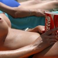 Voyeur Beach - Erect Nipples, Firm Tits, Huge Tits, Perky Tits, Topless Beach, Beach Tits, Beach Voyeur