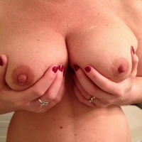 Large tits of my wife - Spectacular