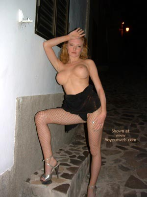 Pic #5 - Flashing In A Spanish Village