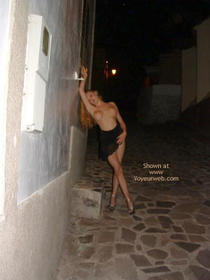 Pic #6 - Flashing In A Spanish Village