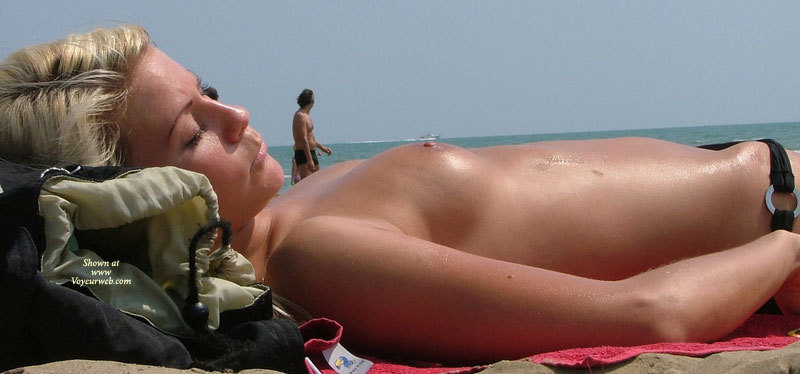 Pic #1 - Topless Beach Beauty - Blonde Hair, Small Tits, Topless Beach, Topless, Beach Tits, Beach Voyeur, Sexy Boobs, Sexy Girl , Smooth Aerolas, Pretty Blonde With Small Breast, Topless Sunbathing, Candid Beach Shot, Beach Dream, Sleeping In The Sun, Smooth Tan Skin, Nice Blond Girl With Small Tits