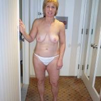 Medium tits of a neighbor - Pat