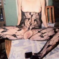 Medium tits of my wife - Sissy