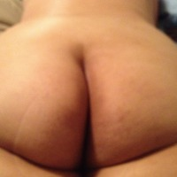 My wife's ass - Beautifully natural
