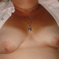Small tits of my wife - Claire