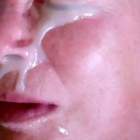 Creamy Loads For an Old Lady - Mature, Cumshot