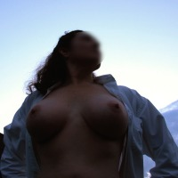 Large tits of my wife - Rachel