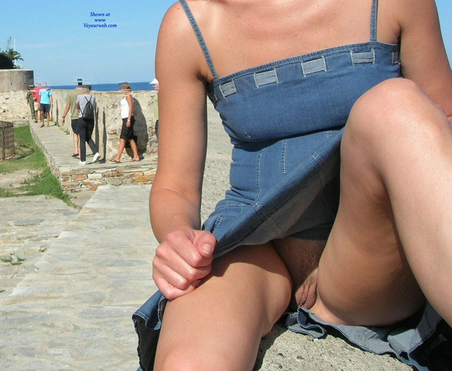 Pic #3 - Meg Outdoor - Public Exhibitionist, Public Place