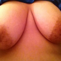 Very large tits of my wife - Beautifully natural