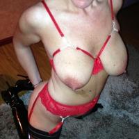 Medium tits of my girlfriend - CORALIE