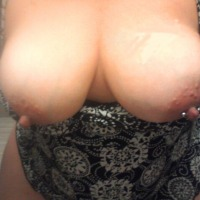 Medium tits of my wife - Honey