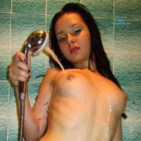 In The Shower - Brunette