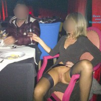 At The Restaurant - Public Exhibitionist, Public Place