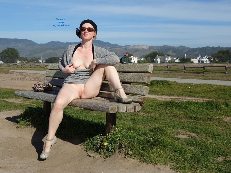 Pic #1 Walking By The Sea - Public Exhibitionist, Public Place