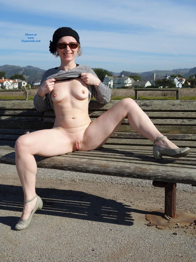 Pic #10 Walking By The Sea - Public Exhibitionist, Public Place