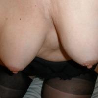 Medium tits of my wife - Marion