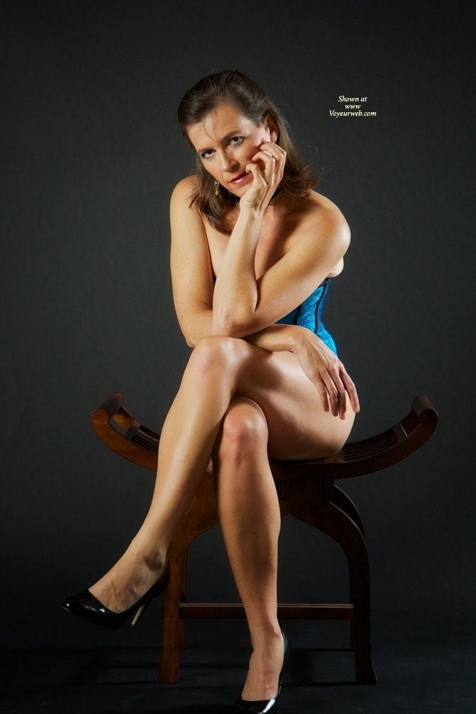 Pic #1 - Vanessab.....Corset - Brunette, Lingerie
