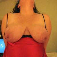 Large tits of my wife - MtnWife