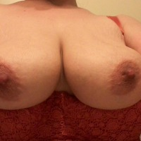 Very large tits of my wife - Kinky Kiki