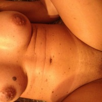 Medium tits of my girlfriend - Linny
