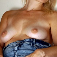 My medium tits - sandra