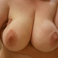 Large tits of my girlfriend - Angie