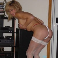 Sexy Stockings - Blonde, Lingerie, Wife/Wives