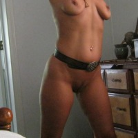 Medium tits of my wife - Gloria