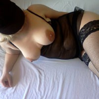 Black Fishnet - Lingerie
