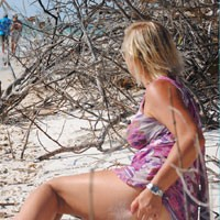 Barefoot Activities - Beach, Blonde