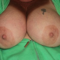 Large tits of my wife - Candy
