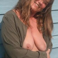 My medium tits - Guess who!