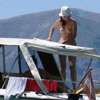 Croatia - Brunette Hair, Nude Outdoors, Voyeur