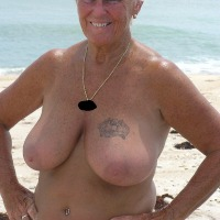 Large tits of my wife - D