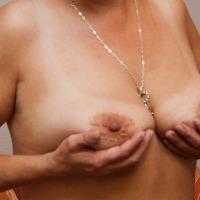 Very large tits of a neighbor - Amanda