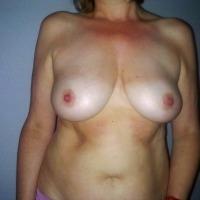 Medium tits of my wife - mari