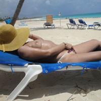 Sunbathing - Beach Voyeur