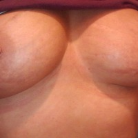 Medium tits of my girlfriend - Debbie