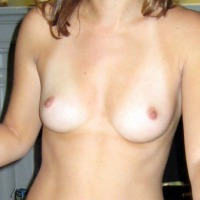 Very small tits of my wife - dano692