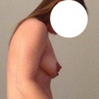 Small tits of my wife - Paige