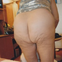 My ass - crack
